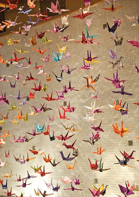 A Thousand Origami Cranes - walnut paperie our newest creations
