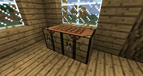 minecraft bench extended workbench mod for minecraft 1 12 2 1 11 2