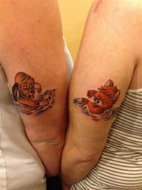 girlfriend tattoo 20 cute boyfriend and girlfriend tattoos sheideas
