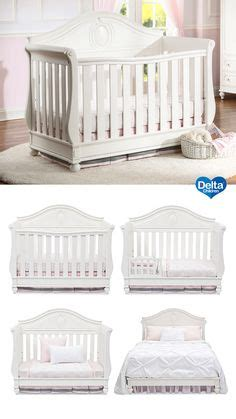 convertible crib to size bed delta children aster 3 in 1 convertible crib with