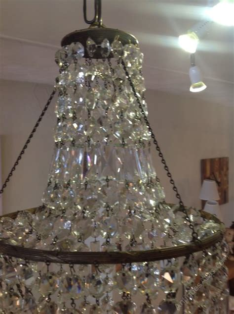 Bell Tent Chandelier Antiques Atlas Early 20th Century Tent Amp Bag Chandelier