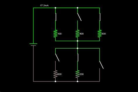 resistors in electronic circuits resistors circuit simulator