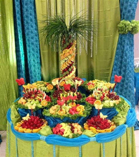 fruit table eventos fruit tables