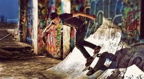 skateboard graffiti wallpapers hd desktop  mobile