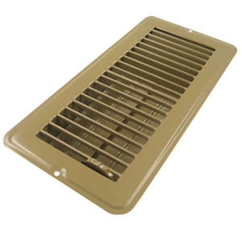 4 quot x 12 quot brown metal floor register mobile home parts
