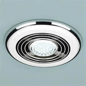 Bathroom Fan Lights Hib Turbo Inline Bathroom Fan In Chrome Hib Bathroom Fan Fans