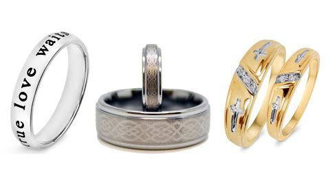 top 10 best his and hers promise rings heavy