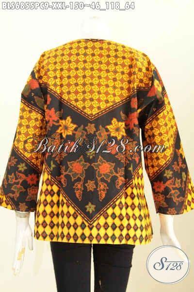 Jawara Lawasan Colet Jumbo Dress baju batik jumbo blus batik wanita pegawai bank dan swasta untuk penilan lebih gaya dan