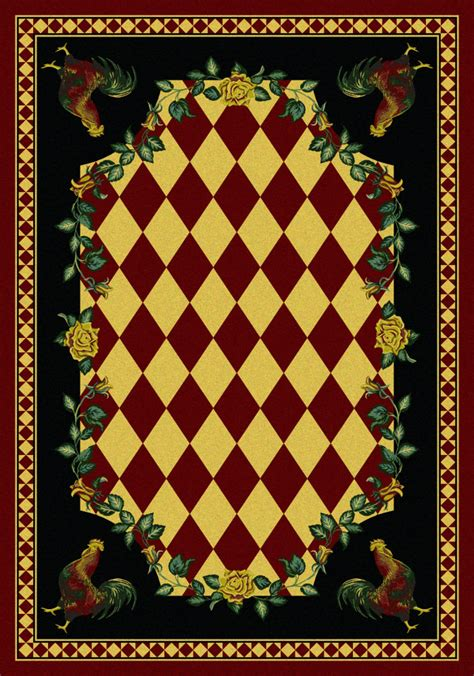country area rug rugstudio presents american dakota novelty high country rooster machine woven quality