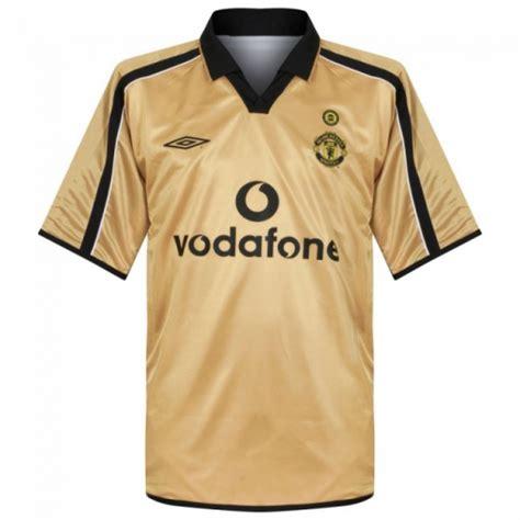 Jersey Mu Away 01 02 Centenary Reversible 01 02 manchester united away gold centenary jersey shirt cheap soccer jerseys shop