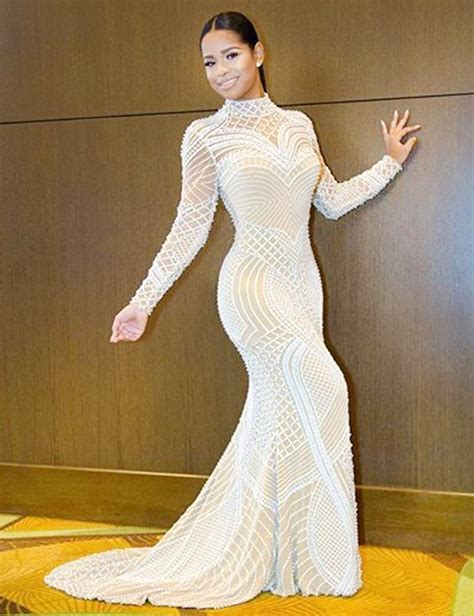 Sleeve High Neck Dress high neck mermaid style pageant dresses with sleeve