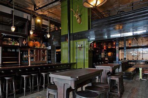breslin bar and dining room breslin new york reclaimed weathered douglas fir