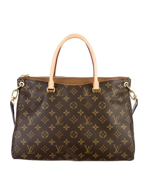 louis vuitton monogram pallas bag handbags lou