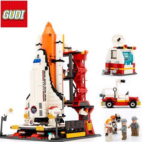 Lego Set Gudi Space Wars Paket 5 Pcs Murah Meriah gudi aerospace building blocks 679 pcs space rocket launch