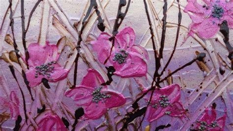 quadri astratti fiori fiori astratti fucsia vendita quadri quadri