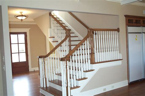 Wooden Stair Banisters Interior Stair Railing Style John Robinson House Decor