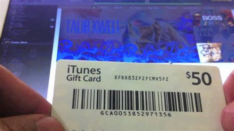 How To Add A Itunes Gift Card - itunes gift card youtube