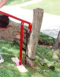 allen tool metal  post puller     farm jack