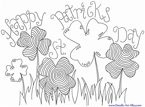 free printable st day coloring pages st day shamrock coloring pages coloring home
