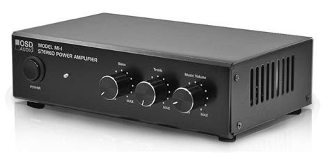 Small Size Home Theater Lifier Osd Audio 60 2 Channel 25 Watt Compact