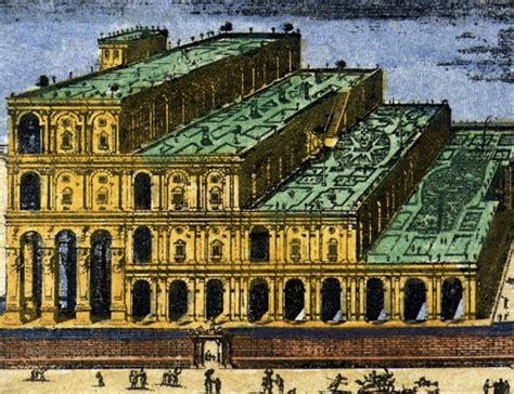giardini pensili di babilonia immagini meraviglie mondo vecchie e nuove