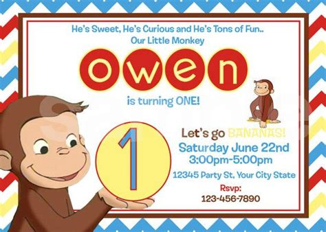 template for a dek of card bax 17 best ideas about curious george invitations on