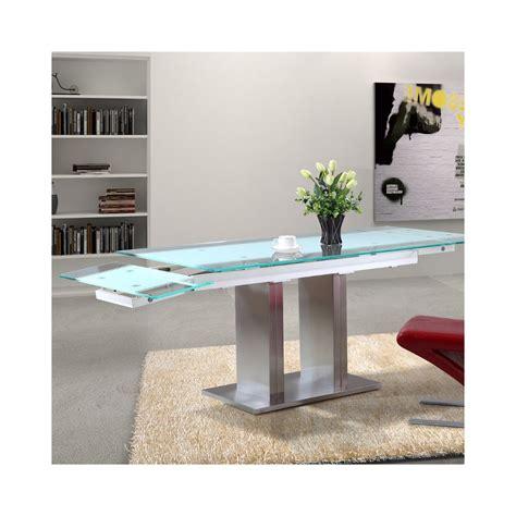 Table En Verre Extensible Design