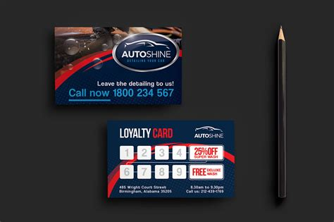 car business card templates free free car wash templates in psd ai vector brandpacks