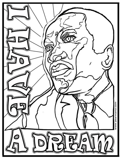 pearmama quot i have a dream quot mlk printable coloring home