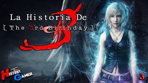 la historia de parasite eve    birthday history gamer youtube