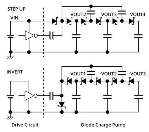 multi diode circuits multi voltage output incorporating diode charge circuitry your analog power ic and the