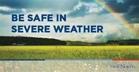 Be Safe In Severe Weather