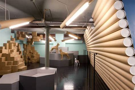 Interior Design With Recycled Materials by 100 Recycled Cardboard Interior Is Totally Tubular