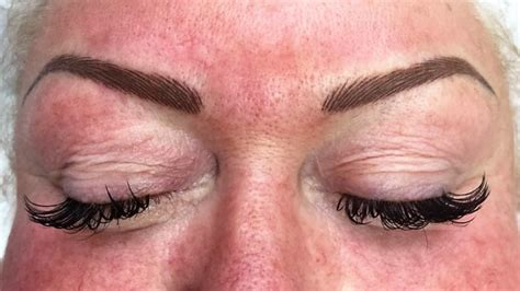correcting bad cosmetic brows permanent make up glasgow