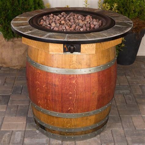 Wine Barrel Fire Pit Table Napa East Collection Wine Country Wine Barrel Pit Table