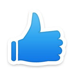 the gallery for gt thumbs up button png