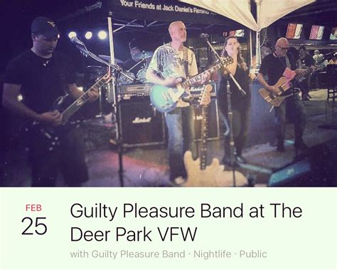 8 Guilty Pleasure Bands by Guilty Pleasure Band Guiltyband