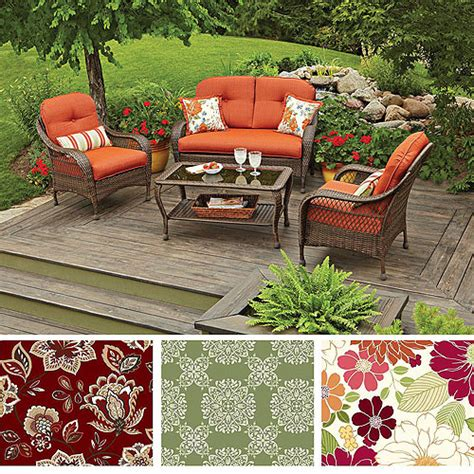 Better Homes Patio Chair Cushions   Better Homes And