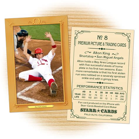 make your own topps card make your own baseball card with cards