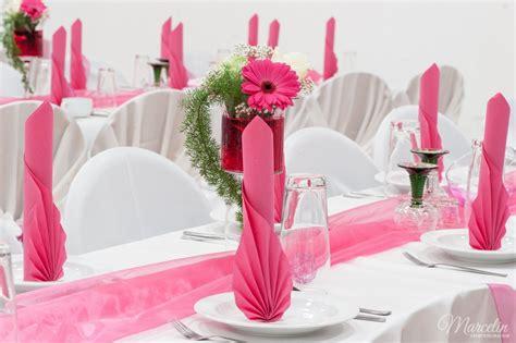Tischdeko Hochzeit Pink by Hochzeit Weiss Pink 171 Marcelin Eventdekoration N 252 Rnberg