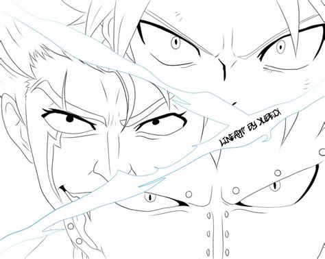 dragon slayer coloring page dragon slayer lineart by xubeix on deviantart