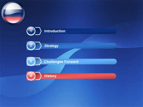 powerpoint templates russia russian flag powerpoint template backgrounds 05313