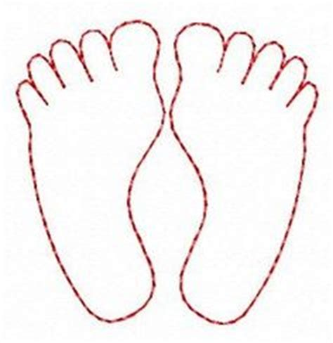 foot template foot pattern use the printable outline for crafts