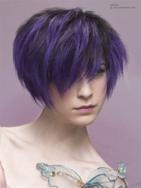 haur styles with black hair and another color in the bottom metamorphosis from long to short hair and with a change of