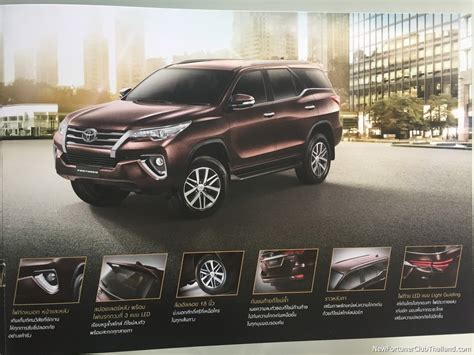 Casing Kunci Silikon All New Toyota Fortuner 2016 toyota fortuner will get paddle shifts brochure leaked shifting gears