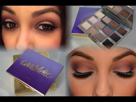 makeup tutorial tarte tarte tartelette palette review makeup tutorial