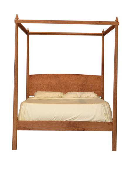 Platform Canopy Bed Pencil Post Bed With Canopy Platform Bed Solid By Tyfinefurniture