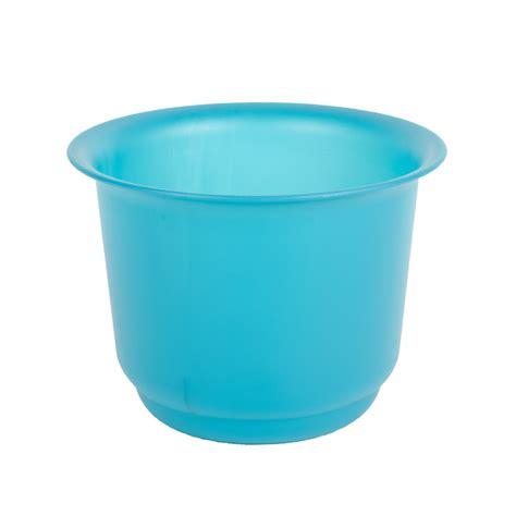 Blue Garden Pots Stewart Plastic Home Garden Plant Flower Pot Blue