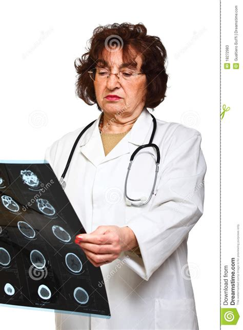Doctor Background Check Doctor Check Xray Stock Photos Image 18272983