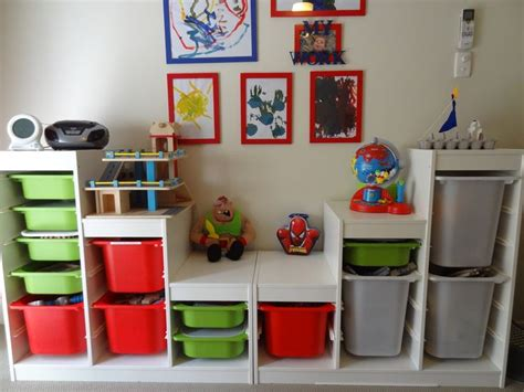 toy storage ideas toy storage trofast by ikea church nursery pinterest